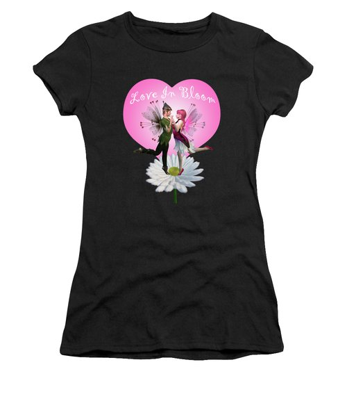 Love In Bloom Women's T-Shirt (Athletic Fit)