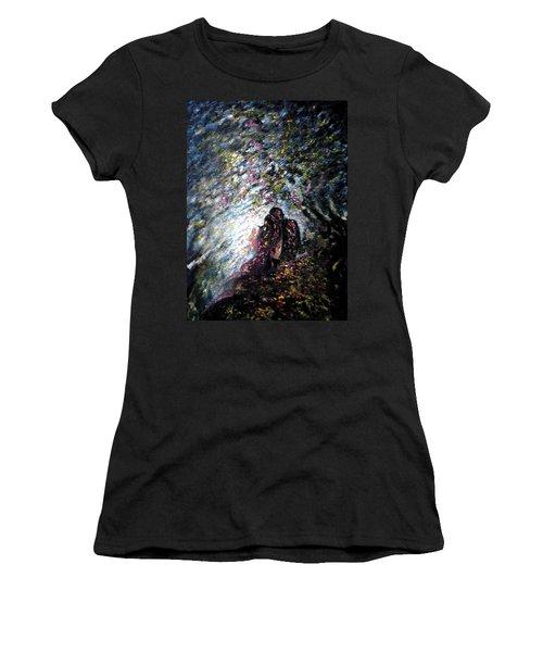 Love In Niagara Fall Women's T-Shirt (Athletic Fit)