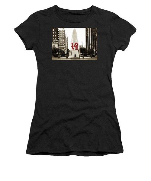 Love In Philadelphia Women's T-Shirt