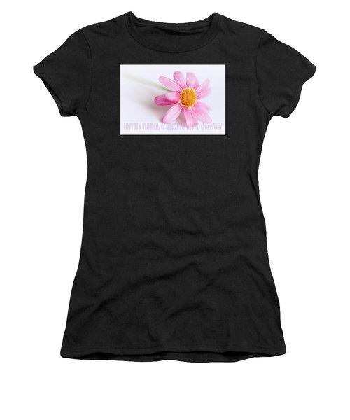 Love Is A Flower Women's T-Shirt
