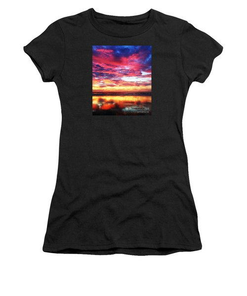 Love Is Real Women's T-Shirt (Junior Cut) by LeeAnn Kendall