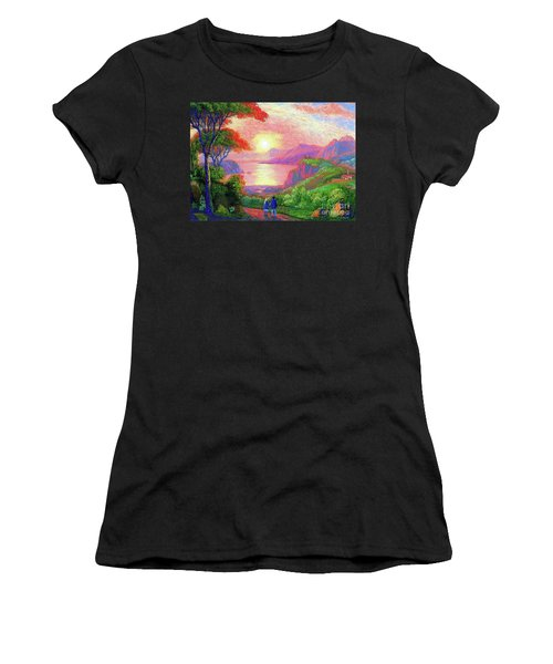 Love Is Sharing The Journey Women's T-Shirt (Athletic Fit)