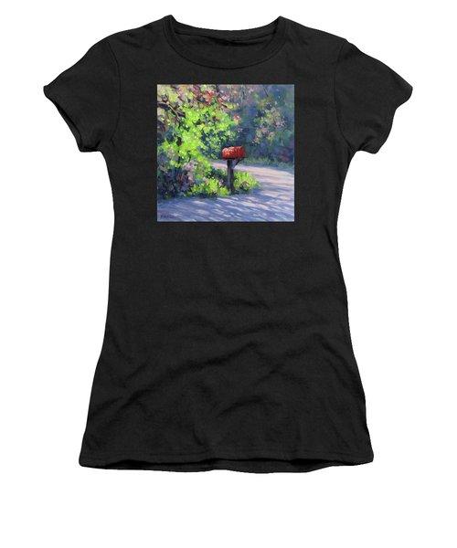 Love Letters Women's T-Shirt (Athletic Fit)