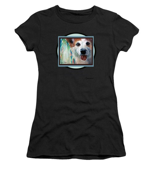 Love Me Love My Corgi Women's T-Shirt (Athletic Fit)