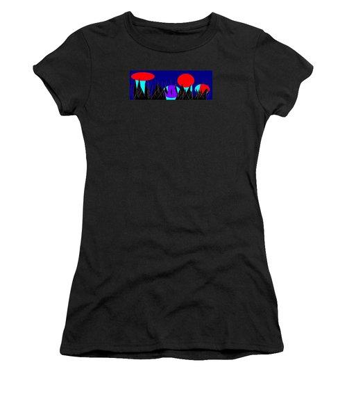 Love No. 12 Women's T-Shirt (Junior Cut) by Mirfarhad Moghimi