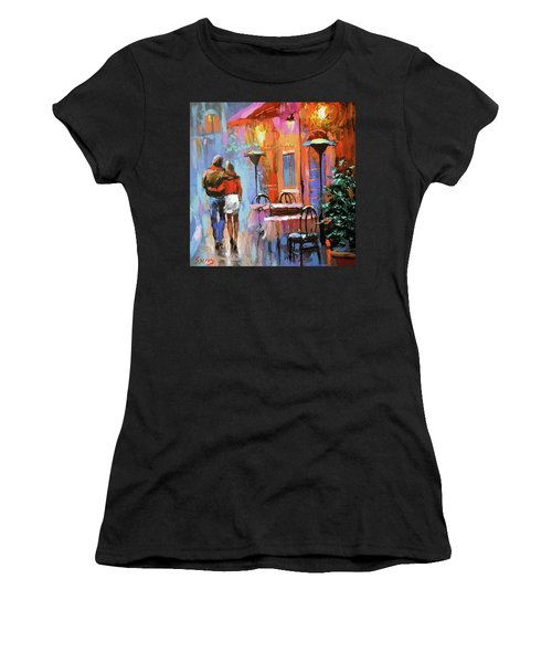 Love You Women's T-Shirt (Athletic Fit)
