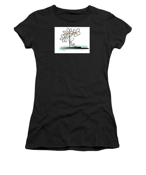 Women's T-Shirt (Junior Cut) featuring the photograph Love You by Haleh Mahbod