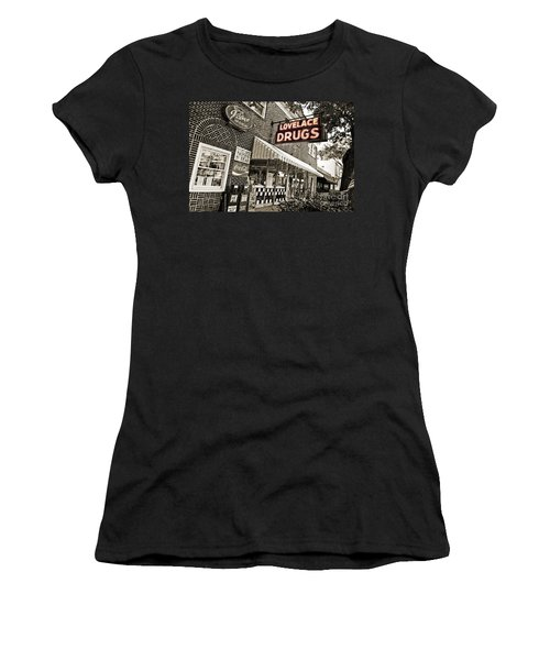 Lovelace Drugs Women's T-Shirt (Athletic Fit)