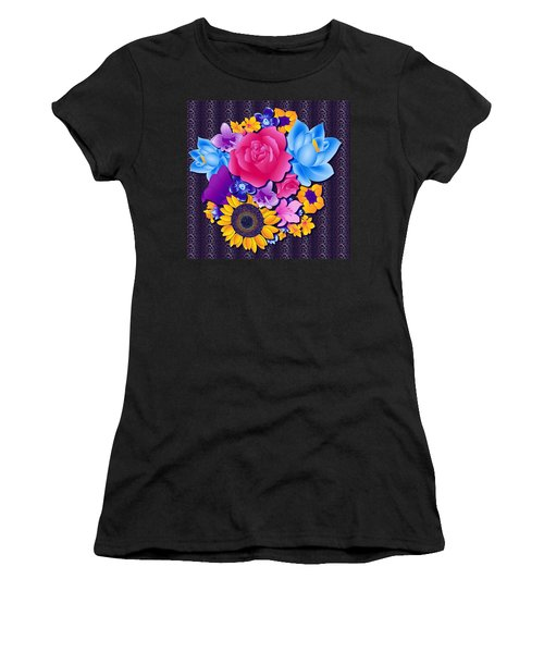 Lovely Bouquet Women's T-Shirt (Athletic Fit)