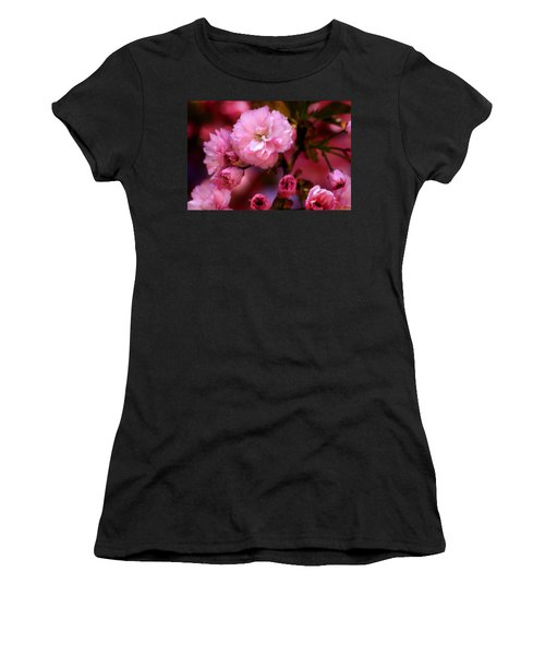 Lovely Spring Pink Cherry Blossoms Women's T-Shirt