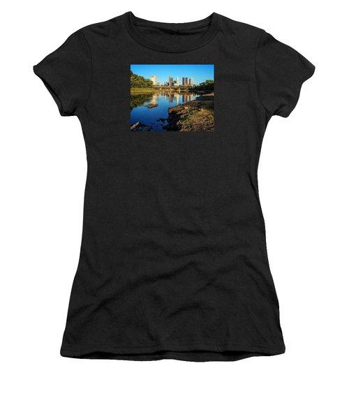 Low Water  Women's T-Shirt (Junior Cut) by Alan Raasch
