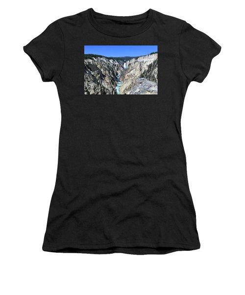 Lower Falls From Artist Point Women's T-Shirt