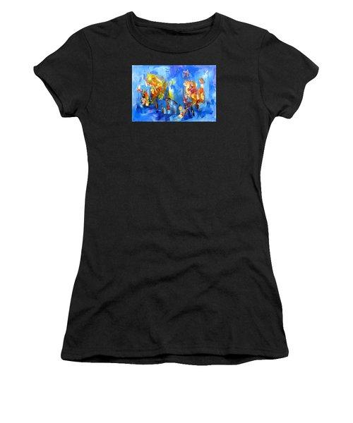 Luminous Celebration  Women's T-Shirt (Athletic Fit)