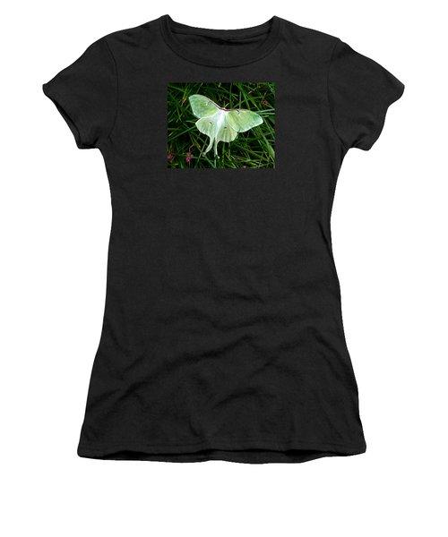Luna Mission Accomplished Women's T-Shirt (Junior Cut) by Carla Parris