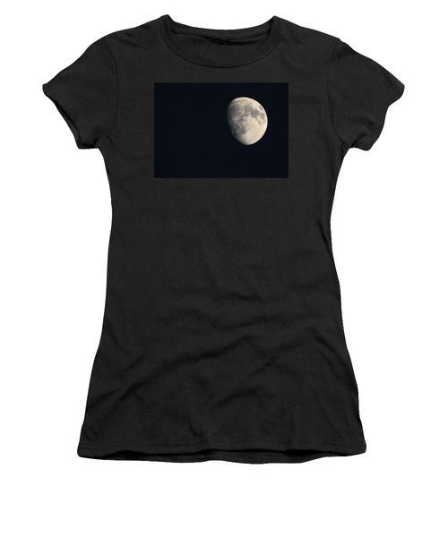 Lunar Surface Women's T-Shirt (Junior Cut) by Angela Rath