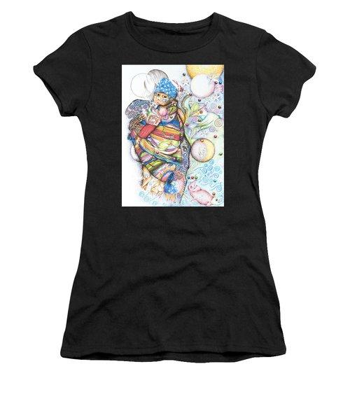 Lunas Y Estrellas Perdidas- Sombra De Arreguin Women's T-Shirt