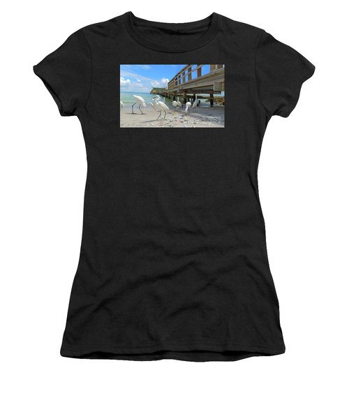 Lunch Time Women's T-Shirt (Athletic Fit)