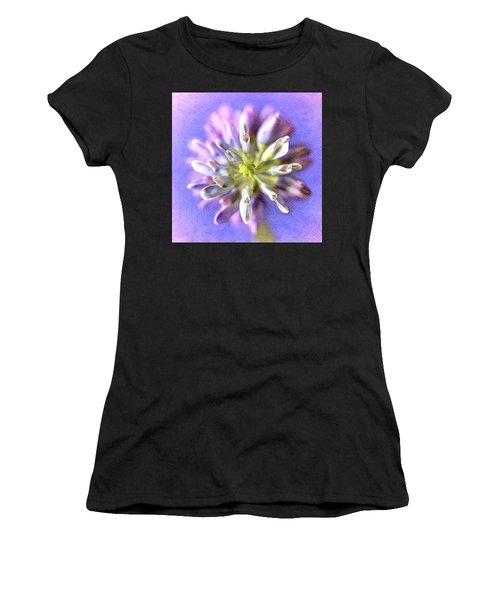 Lupine Hearts Unfurled Shabby Chic Women's T-Shirt