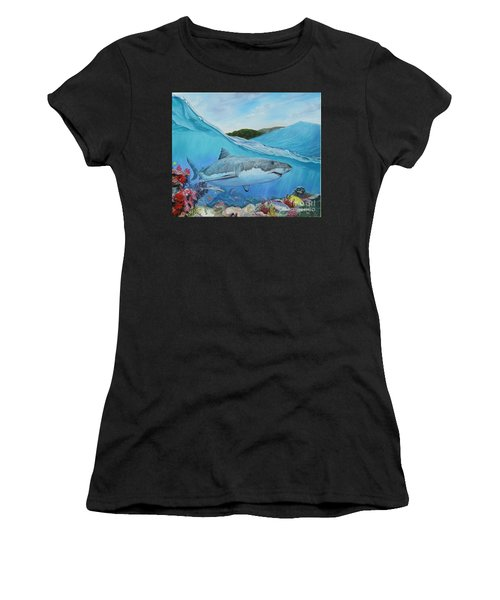 Lurking Women's T-Shirt (Athletic Fit)