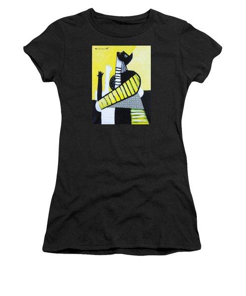 Lux No. 3  Women's T-Shirt (Athletic Fit)