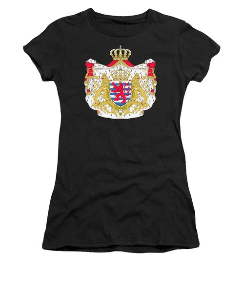 Luxembourg Coat Of Arms Women's T-Shirt