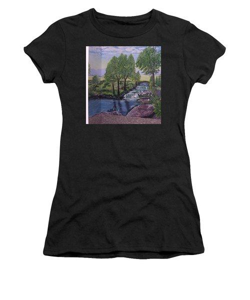 Luxury Bath Time Women's T-Shirt (Athletic Fit)