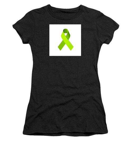 Lyme Disease Awareness Ribbon  Women's T-Shirt