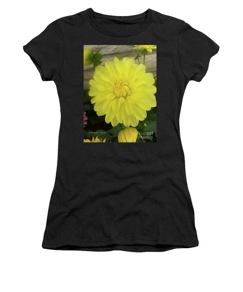 M Shades Of Yellow Flowers Collection No. Y90 Women's T-Shirt