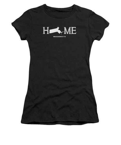 Women's T-Shirt featuring the mixed media Ma Home by Nancy Ingersoll