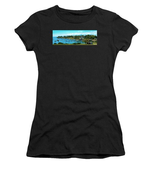 Mackerel Cove On Bailey Island Women's T-Shirt (Athletic Fit)