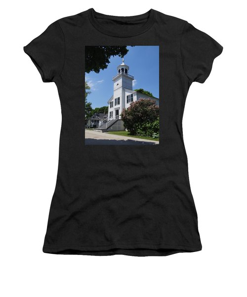 Mackinac Island Mission Church Women's T-Shirt