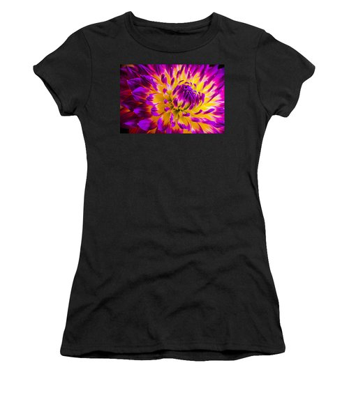 Macro Flora Women's T-Shirt (Athletic Fit)