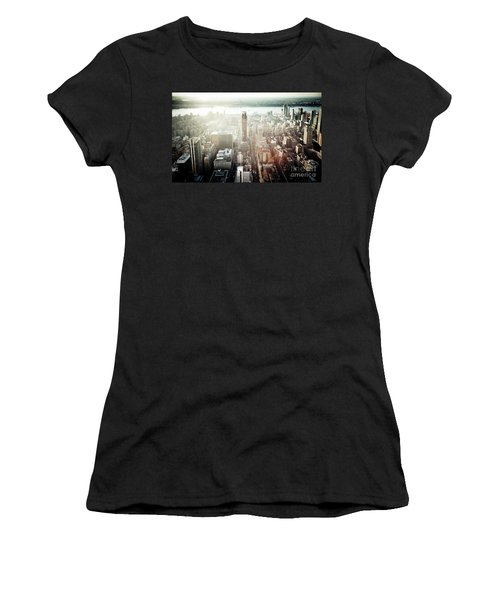 Sunset At Macy's Women's T-Shirt (Athletic Fit)