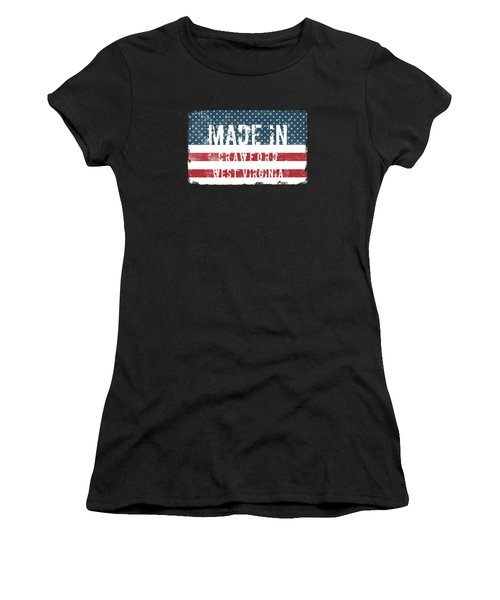 Made In Crawford, West Virginia Women's T-Shirt
