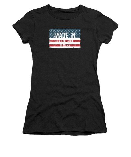 Made In Farmland, Indiana Women's T-Shirt