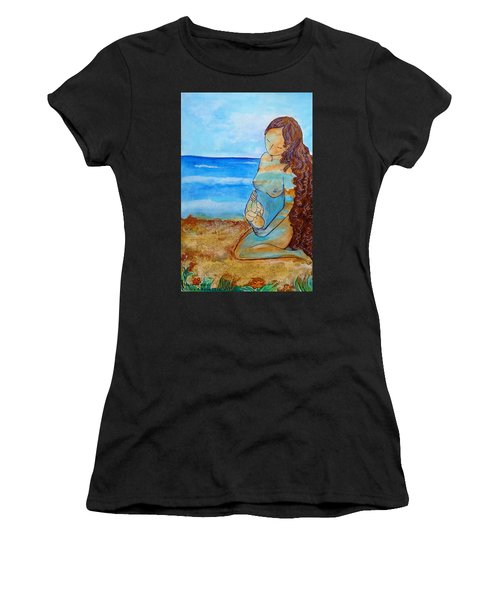 Made Of Water Women's T-Shirt (Athletic Fit)