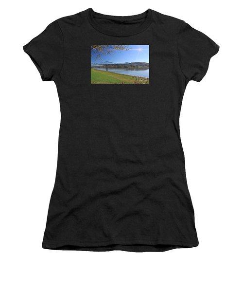 Madison, Indiana Bridge  Women's T-Shirt (Athletic Fit)