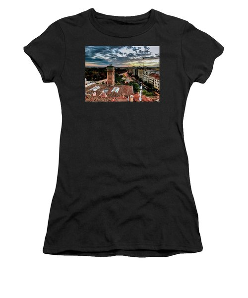 Madrid Sunset Women's T-Shirt (Athletic Fit)