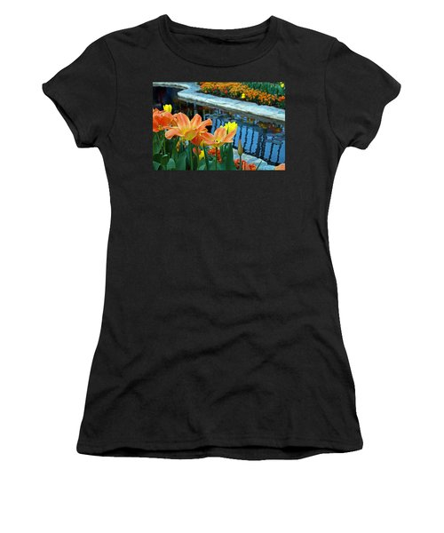 Magic Garden Women's T-Shirt (Athletic Fit)
