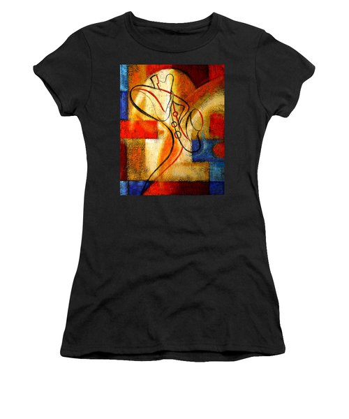 Magic Saxophone Women's T-Shirt (Athletic Fit)