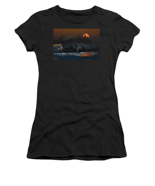 The Last Mile Before Home Women's T-Shirt (Athletic Fit)