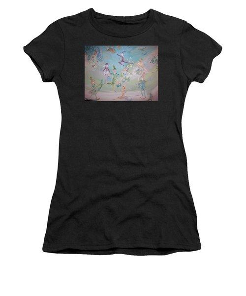 Magical Elf Dance Women's T-Shirt (Athletic Fit)