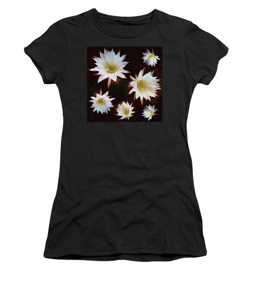 Women's T-Shirt (Junior Cut) featuring the photograph Magical Flower by Gina Dsgn