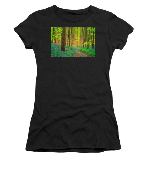 Magical Forest Women's T-Shirt (Athletic Fit)
