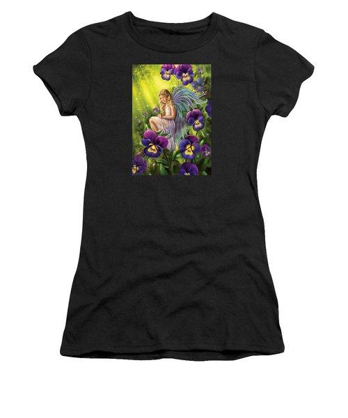 Magical Pansies Women's T-Shirt