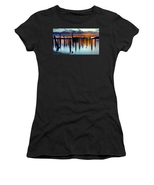 Magical Sunset Titlow Beach Tacoma Wa Women's T-Shirt