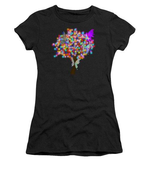 Magical Tree - Digital Art Women's T-Shirt