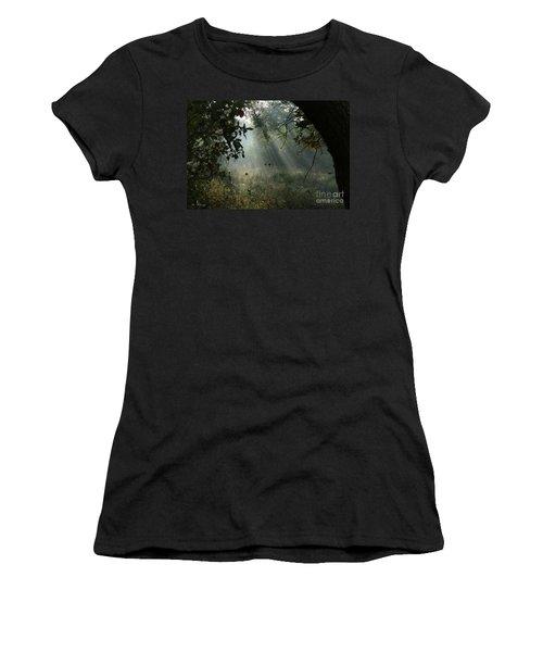 Magical Woodland Lighting Women's T-Shirt