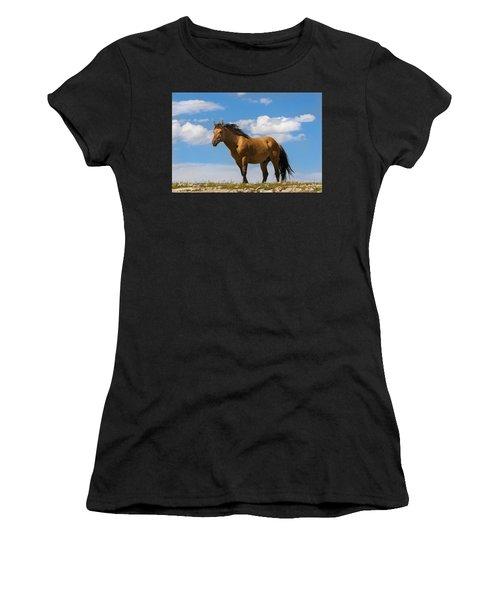 Magnificent Wild Horse Women's T-Shirt