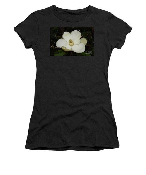 Magnolia Blossom 5 Women's T-Shirt (Athletic Fit)